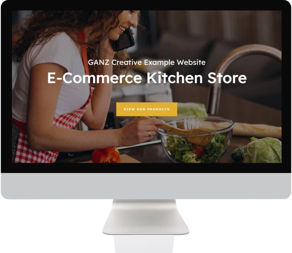 E-Commerce Websites - Kitchen Store