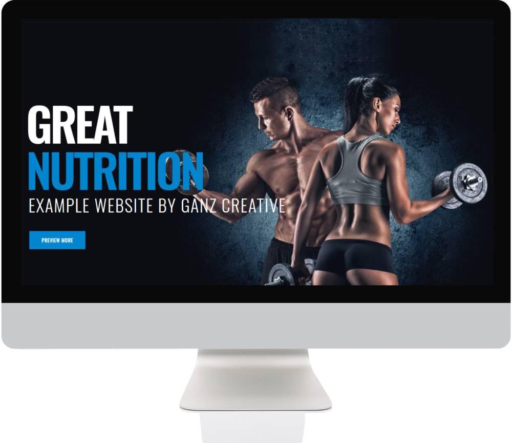 E-Commerce Websites - Supplements Store