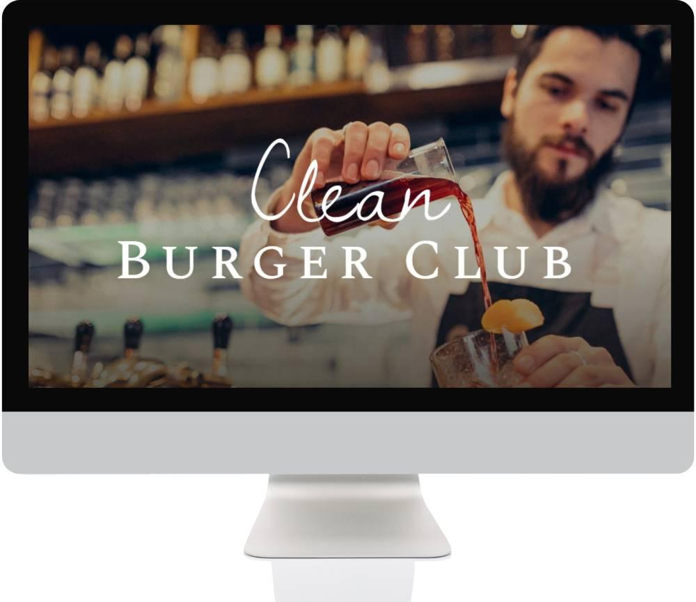 Restaurant Websites - Burger Restaurant