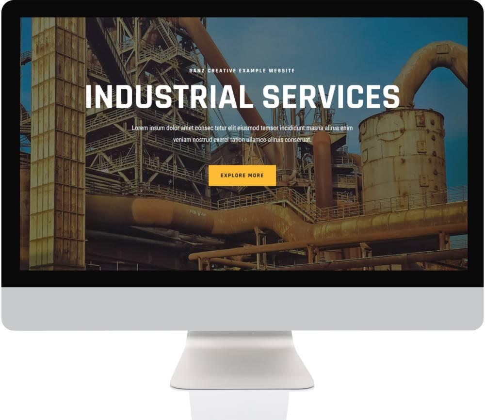 Tradie Websites - Industrial Services