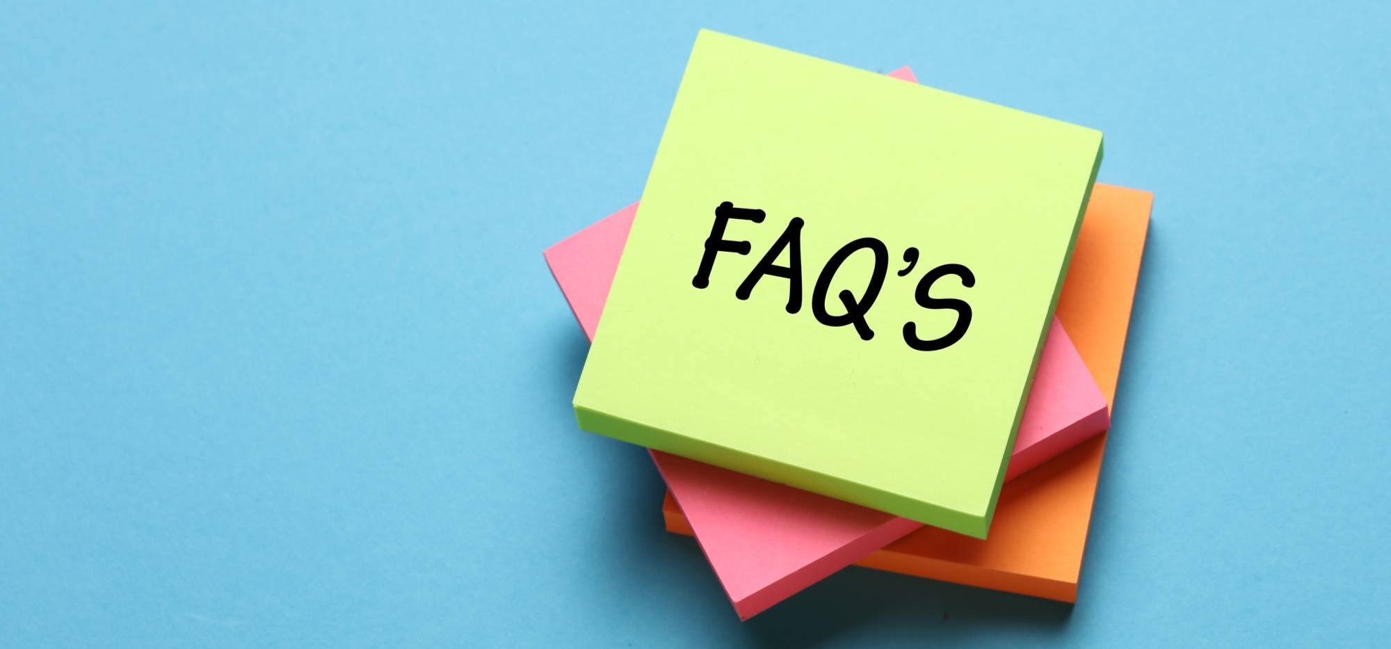 Website FAQ's - Frequently Asked Questions